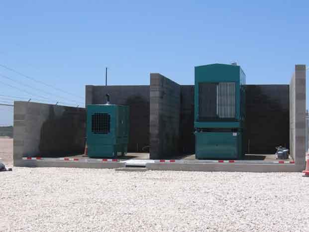 Catastrophic Secondary Containment Concrete Vault 4