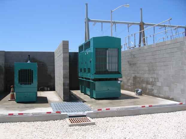 Catastrophic Secondary Containment Concrete Vault 6