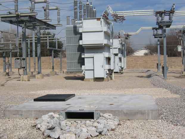 Catastrophic Secondary Containment Concrete Vault 8