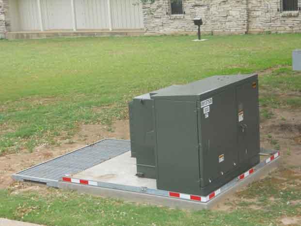 Catastrophic Secondary Containment Metal Vault 2