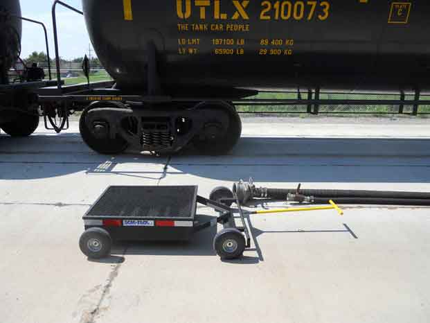 Mobile Secondary Containment Cart Drip Pan 1
