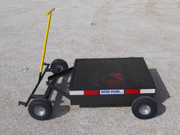 Mobile Secondary Containment Cart Drip Pan 6