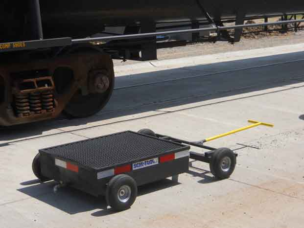 Mobile Secondary Containment Cart Drip Pan 7