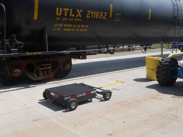 Mobile Secondary Containment Cart Drip Pan 8